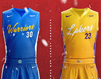 2018 NBA Christmas Day Jersey Concepts