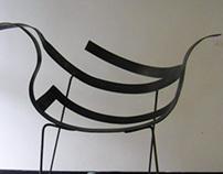 Ribbon Chair: Prototype.