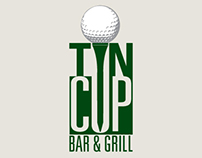 Tin Cup Bar Logo and Branding