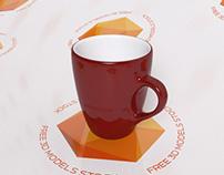 Mica Contrast Mug 3D Model