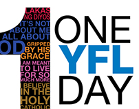 ONE YFL DAY posters