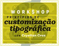 Workshop - Princípios de Customização Tipográfica