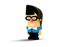 Alec Smart character design