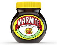 3D Render - Marmite Jar