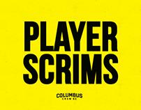 Columbus Crew SC: Mapfre Stadium Player Scrims