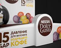 Display Nescafe Dolce Gusto