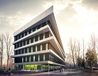 Office Building in Gliwice.