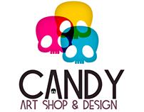 Pôsters - Candy Art Shop