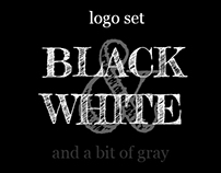 Black & White Logo Set