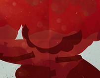 Super Mario Movie Minimal Poster