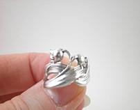 Celtic Floral Ring