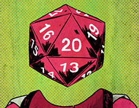 Roll Play Dice Portraits