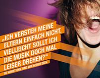 """bigFM """"Du hörst uns. Und wir hören Dich."""" (Campaign)"""