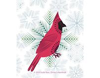 Scandi Holiday Illustrations
