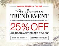 BCBG Summer 16 Trend Event