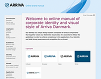 Arriva - Online manual of corporate identity