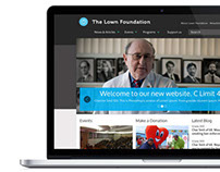 The Lown Foundation - Web Design