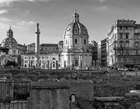 Places : Rome : Black and White