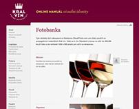 Král vín - Online logo & identity guidelines