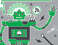 Robotics Workshop: graphics and promo