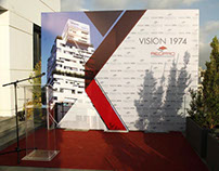 The inauguration of VISION 1974 in Beirut, Lebanon