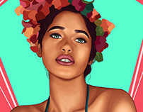 Latin Woman