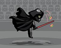 Darth Vader meets Wimbledon