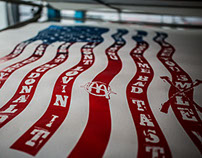 SERIGRAPHY FLAG