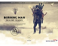 Micro-site - Burning Man