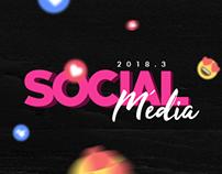 SOCIAL MÉDIA - MARÇO 2018