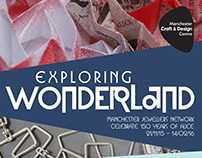 Exploring Wonderland - Exhibition Branding MCDC