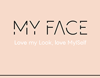 MY FACE// app design