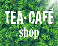 Shop tea&coffee. E-commerce Website