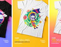 Happy Weed T-Shirt Design