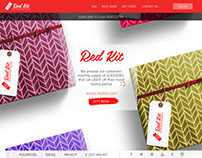 Red Kit Website Layout