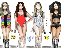 Little Mix Get Weird Tour Art