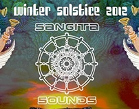 Sangita Sounds - Winter Solstice Gathering [FLYER ART]