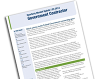 Quarterly Market Update - Government Contractor