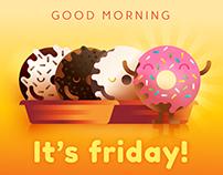 Donuts Friday teaser