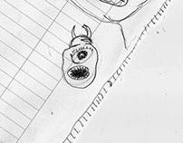 Random moleskine sketches