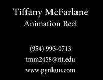 Animation Reel