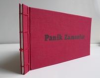 Panik Zamanlar-El yapımı kitap / Handmade book