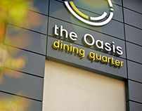 Oasis Dining Quarter Branding