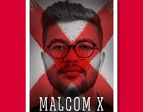 Alternative Movie Poster | Malcom X
