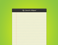 Just Another Skeuomorphic Notepad
