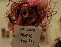 undead toy protest -photography project