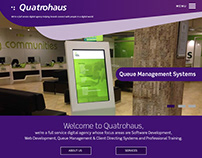 Quatrohaus Website
