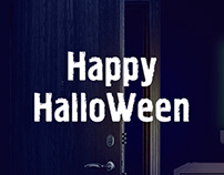Halloween | Email design & animated banner