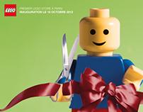New Lego Store in Paris