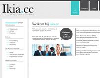 Design website Ikia.cc
